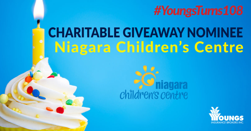 Youngs' 108th Birthday Charitable Nominee | Niagara Children's Centre