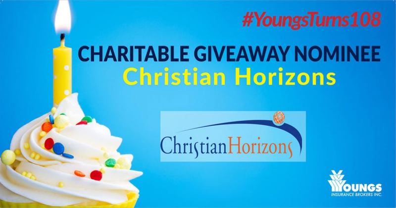 Youngs' 108th Birthday Charitable Nominee | Christian Horizons