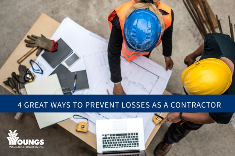 4 Great Ways to Prevent Losses As A Contractor