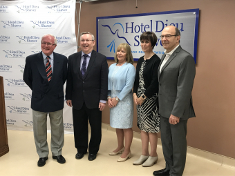MPP Bradley Announces $500,000 for Hotel Dieu Shaver Planning Grant