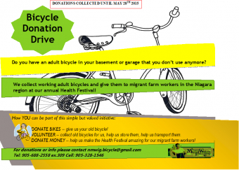 Annual Bicycle Donation