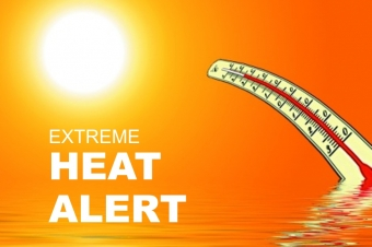 Weather Alert: EXTREME HEAT FOR FATHER'S DAY TODAY