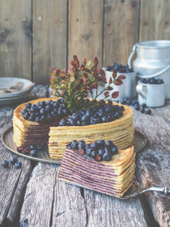A Trip to Bakeland + Blueberry Crepe Torte