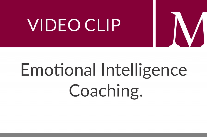 Emotional Intelligence Coaching (56 sec)