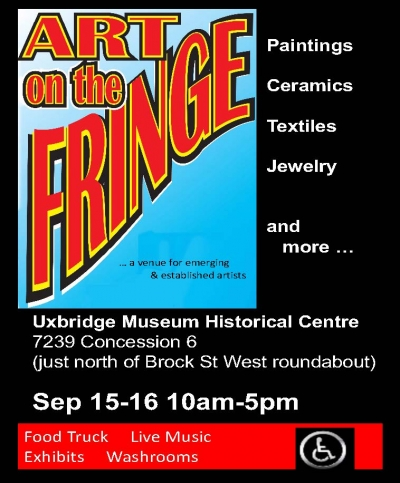Art on the Fringe Returns With Their Wonderful Lineup of Emerging & Established Artists