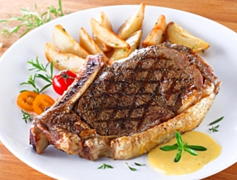 Weekend feature - Canadian AA bone-in striploin steaks, $8.99 a pound!