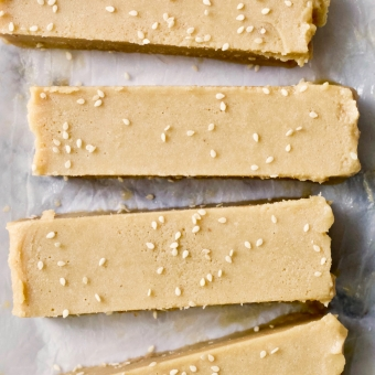 Entirely Worth it: Tahini Fudge