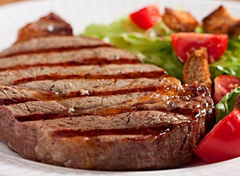 Canadian AA NY striploin steaks for $9.99 a pound this weekend at Glenburnie Grocery!