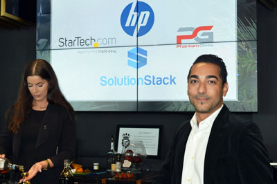 Solution Stack & HP host a private event that 'ups the ante' for prospects and clients
