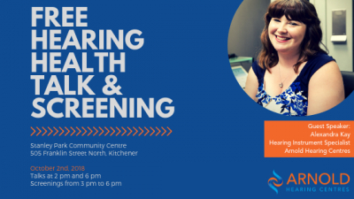 Free Hearing Health Talk and Screening