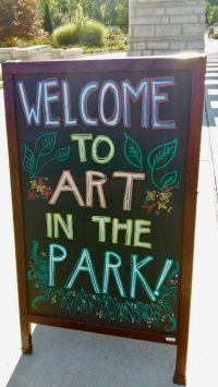 Lorne Park Dental Associates sponsors VAM's Art in the Park 2018