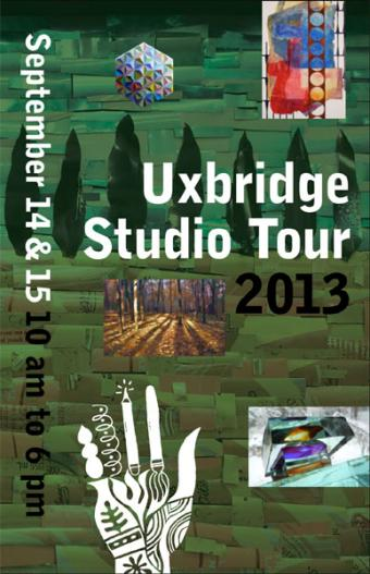 Come see us at the 2013 Uxbridge Studio Tour