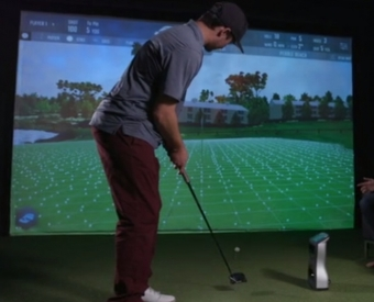 Indoor Golf Simulator League A Hit with Niagara Golfers