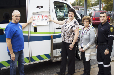 FAST action to help Niagara patients survive the effects of stroke