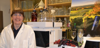 Wine Lab at Kentville Research Centre, Nova Scotia