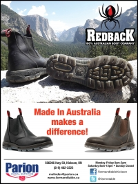 Parion Animal Nutrition - Get your Redback Boots
