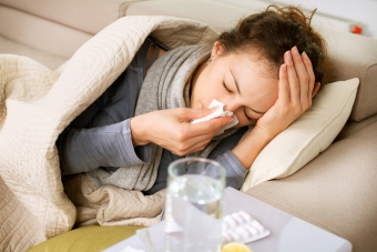 Protecting Your Own Health While Caring for a Senior with the Flu