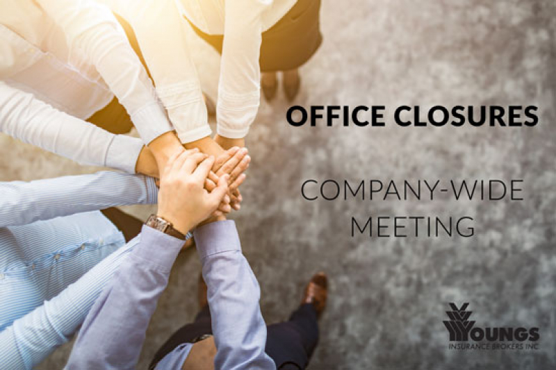 Office Closure Notice | January 9, 2019