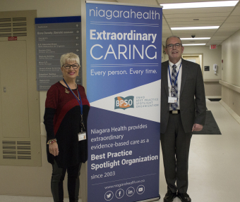 Registered Nurses Association of Ontario recognizes Niagara Health for best practice implementation
