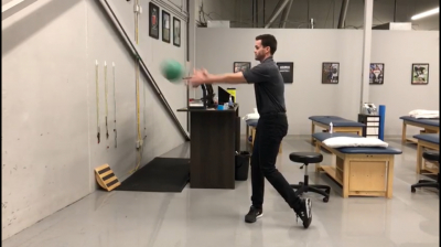 #WorkoutWednesday Ι Off Season Golf Training Ι Medicine Ball Throw