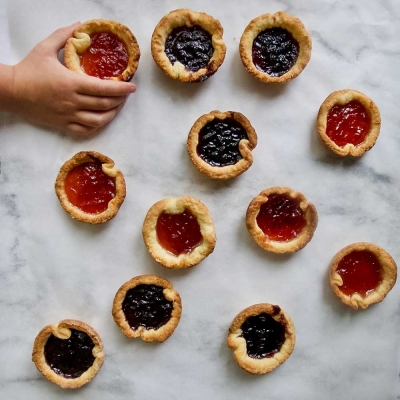 Bonding Over Jam Tarts