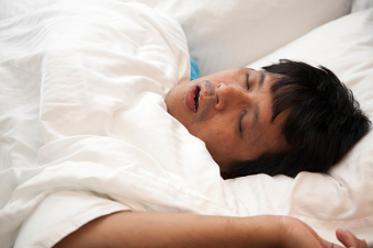 What is the cycle of obstructive sleep apnea?