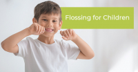 Flossing for Children
