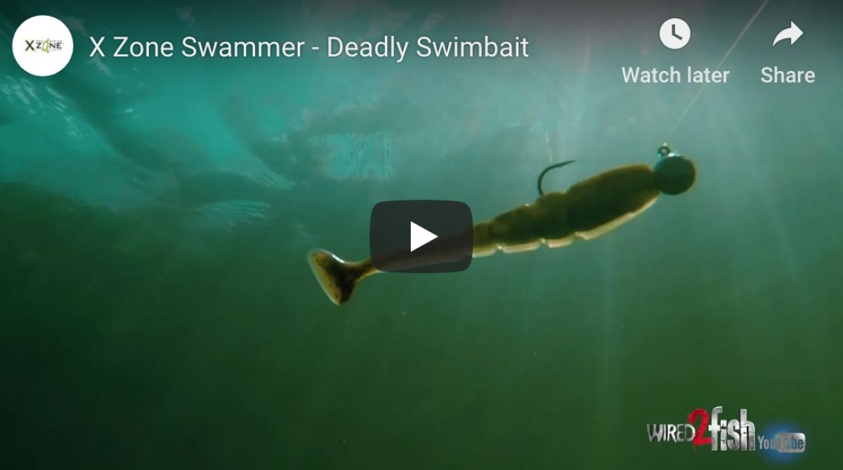 X Zone Swammer - Deadly Swimbait