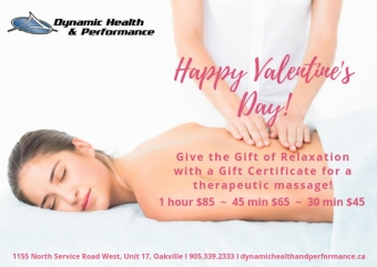 Valentine's Day Ι Give the Gift of Relaxation