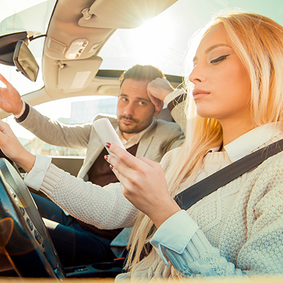 The Ten Deadliest Driving Distractions