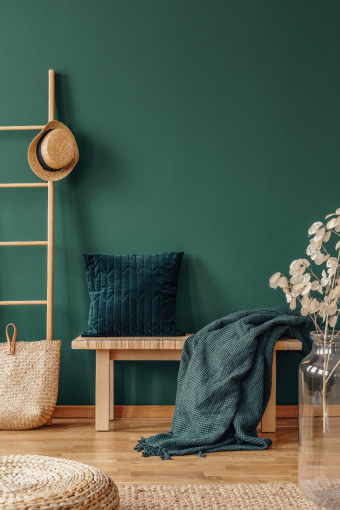Choosing the right paint colours to freshen your home.