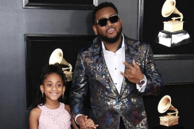 Quality meets quality with Boi1da's custom King & Bay jacket for the 2019 Grammy Awards.