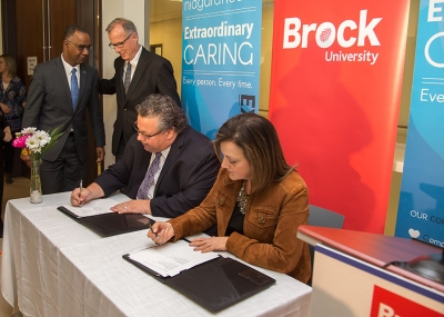 Niagara Health, Brock University team up to improve health and well-being in Niagara