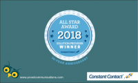 PRowl Communications Earns 2018 Constant Contact Solution Provider All Star Award