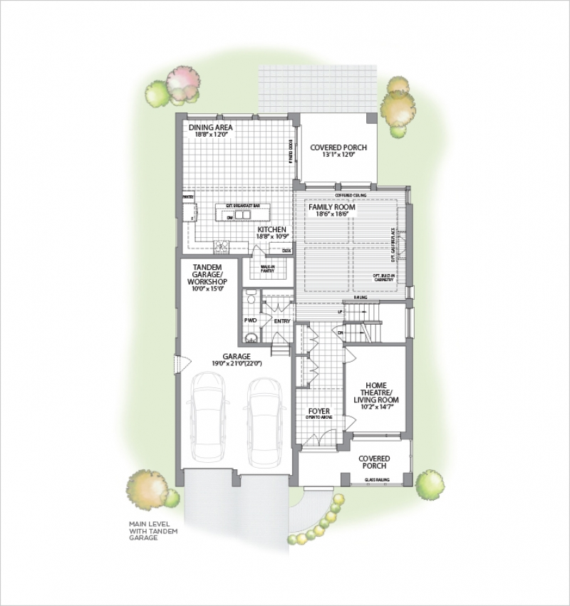 White Oak | Two Storey<br /><span style='font-size: 10pt;'>Woodlands Preserve</span>