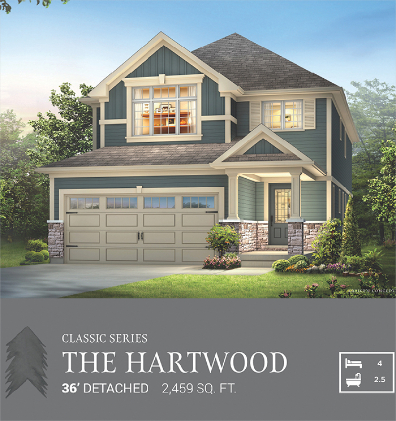 Classic Series | The Hartwood<br /><span style='font-size: 10pt;'>Pinehurst</span>