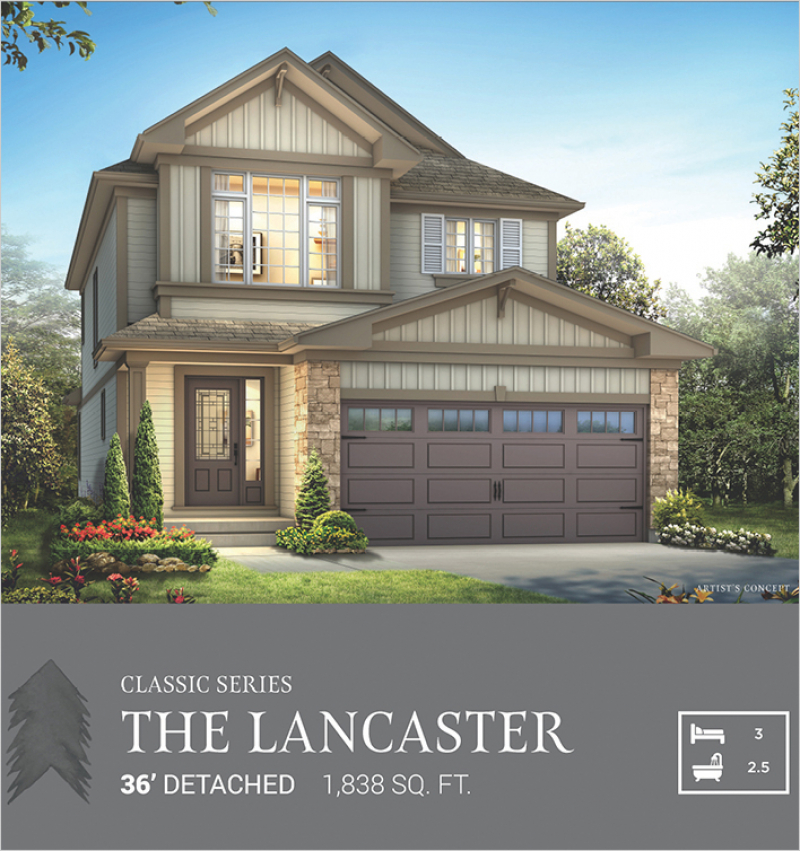 Classic Series | The Lancaster<br /><span style='font-size: 10pt;'>Pinehurst</span>
