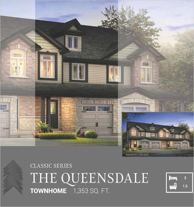 Classic Series | The Queensdale<br /><span style='font-size: 10pt;'>Pinehurst</span>