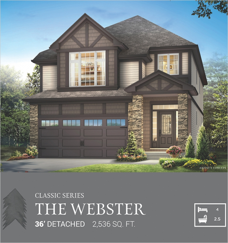 Classic Series | The Webster<br /><span style='font-size: 10pt;'>Pinehurst</span>
