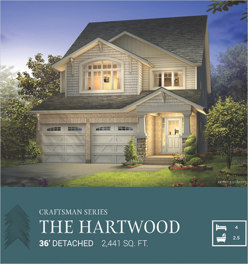 Craftsman Series | The Hartwood<br /><span style='font-size: 10pt;'>Pinehurst</span>