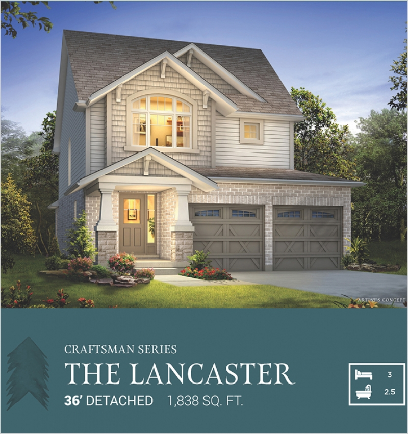 Craftsman Series |<BR>The Lancaster <BR>Pinehurst