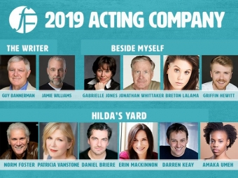 Meet Our 2019 Acting Company!