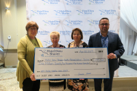 Hotel Dieu Shaver Celebrates $1,000,000 milestone from Auxiliary