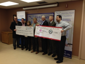 Over $130,000 Donated to Parkinson's Rehab Centre