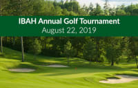 IBAH Annual Golf Tournament | August 22, 2019
