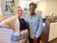 A warm welcome to Deidra as Brittney's maternity leave begins