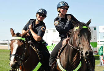 Ontario Mounted Special Service Unit Service Horse School to be held July 5-7 in Ancaster.
