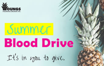 Giving Back | Summer Blood Drive - July 25, 2019