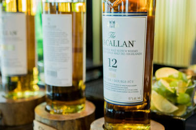 VIP guests celebrate Father's Day in style with a private whiskey tasting of The Macallan in the King & Bay lounge