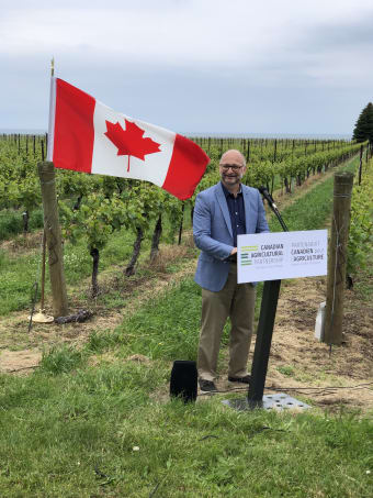 Government of Canada invests in long-term growth of wine and grape industry